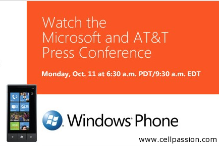 windows phone 7 launch webcast